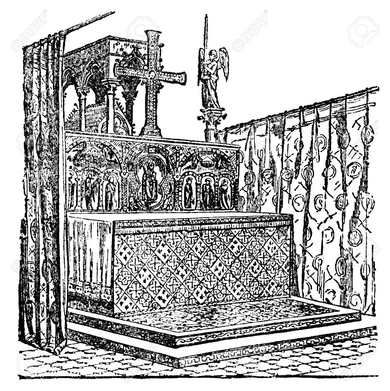 Drawing Wedding Altar: The Best Free Altar Drawing Images. Download From 69 Free