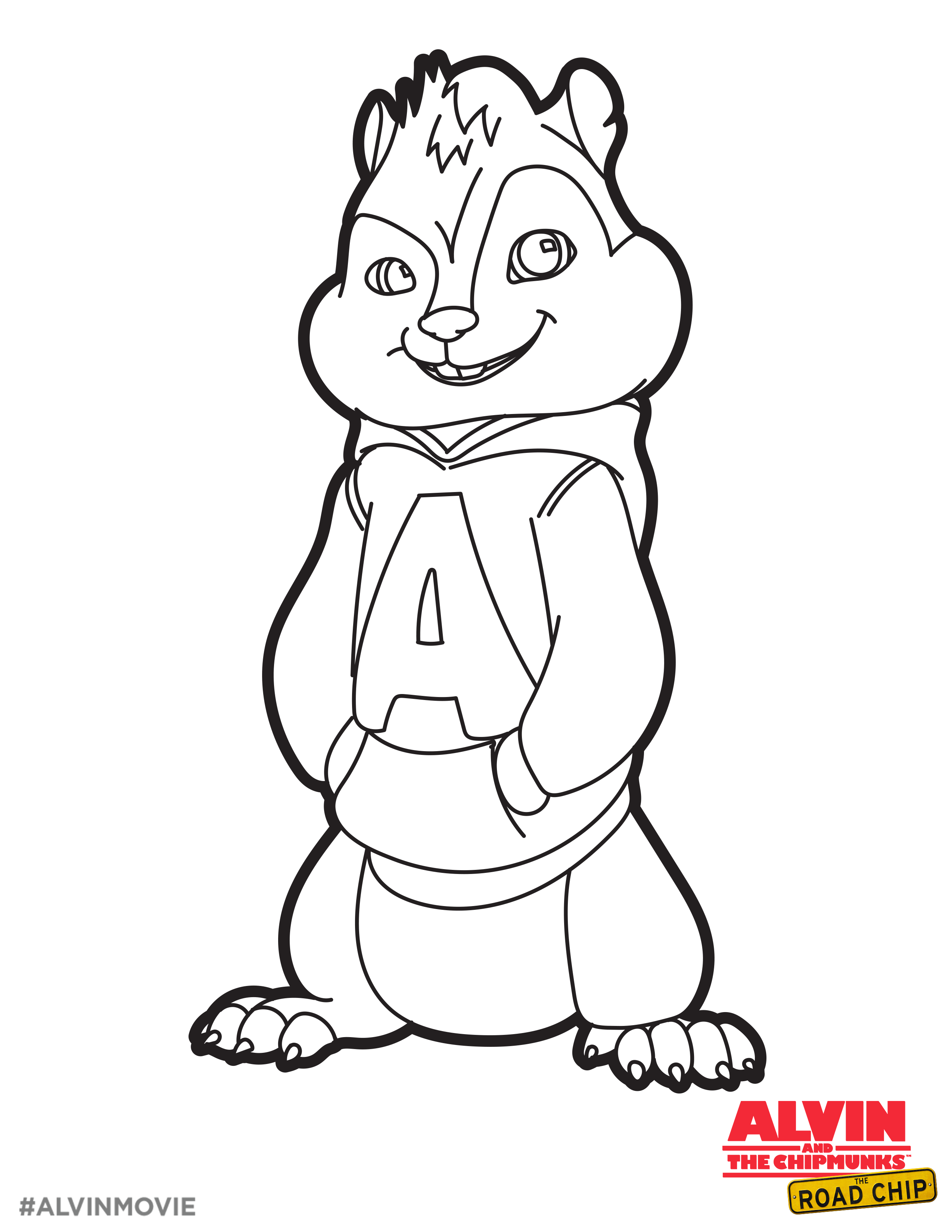 Alvin And Chipmunks Drawing At Getdrawings Com Free For Personal