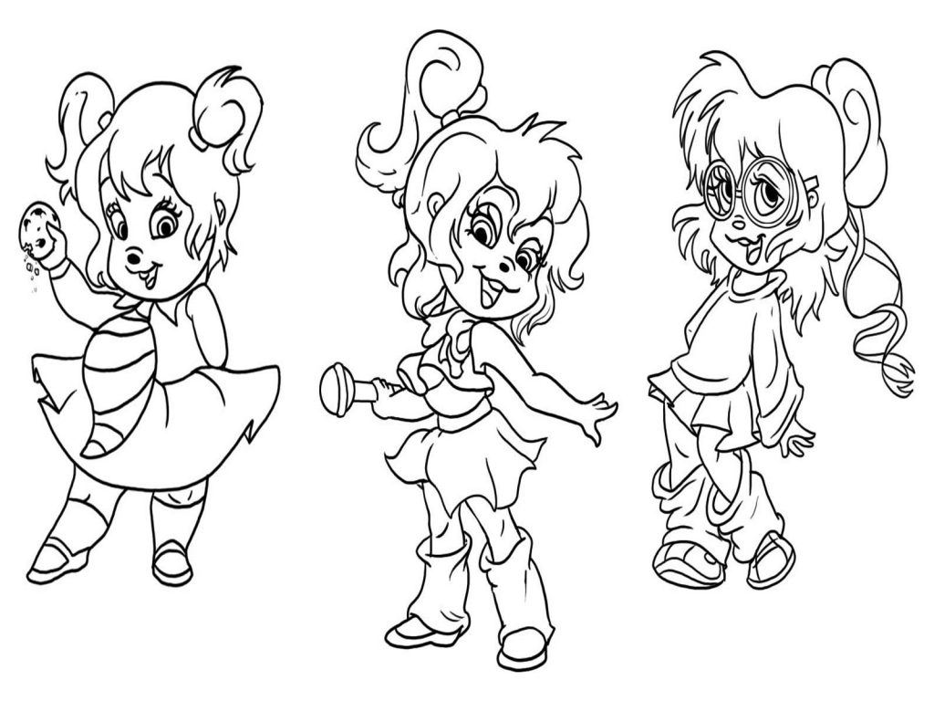 Alvin And The Chipmunks Drawing at GetDrawings.com | Free for ...