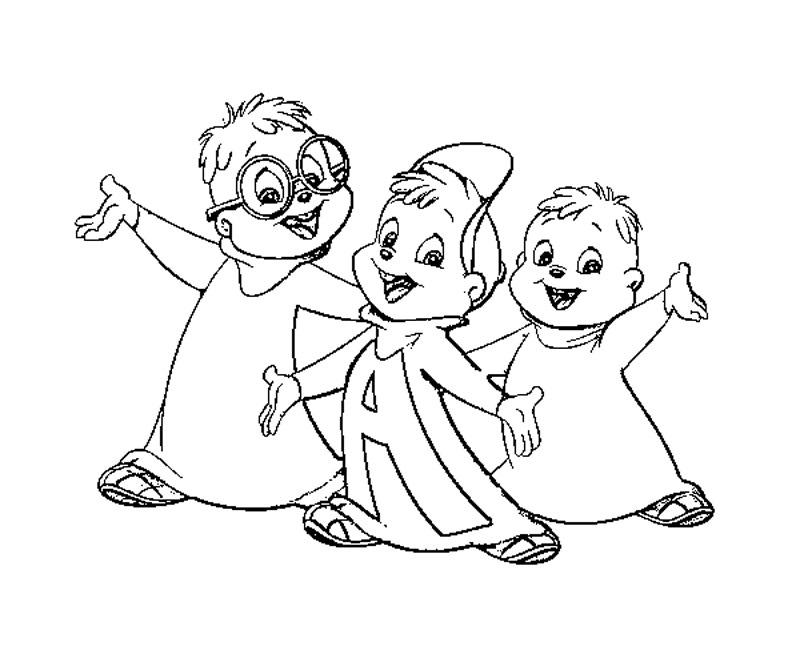 Alvin And The Chipmunks Drawing At Getdrawings Com Free For