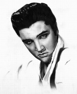 328x400 Just Because Its Elvis Realistic Pencil Drawing Art And Me