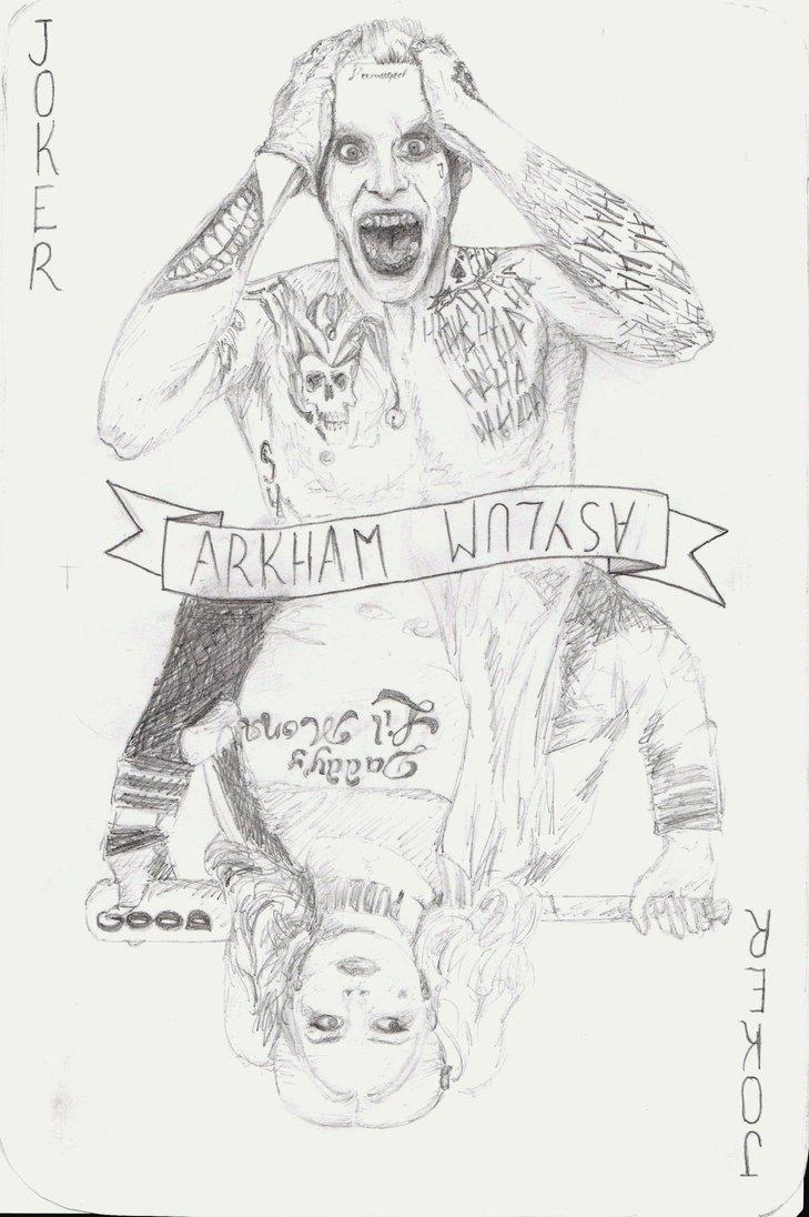 729x1096 Suicide Squad Quick Sketch By Alexandraprivet