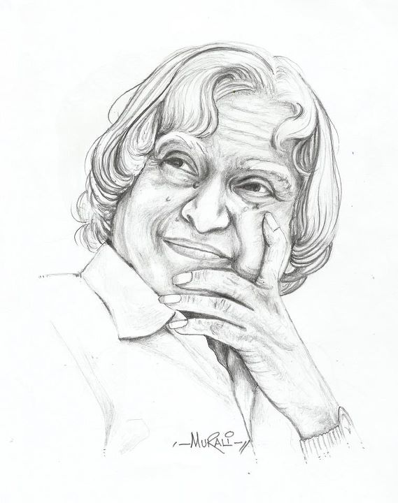 569x720 Abdul Kalam Artist Murali