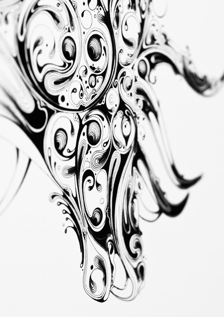 721x1020 Amazing Drawing Of Swirls Made By The Scott