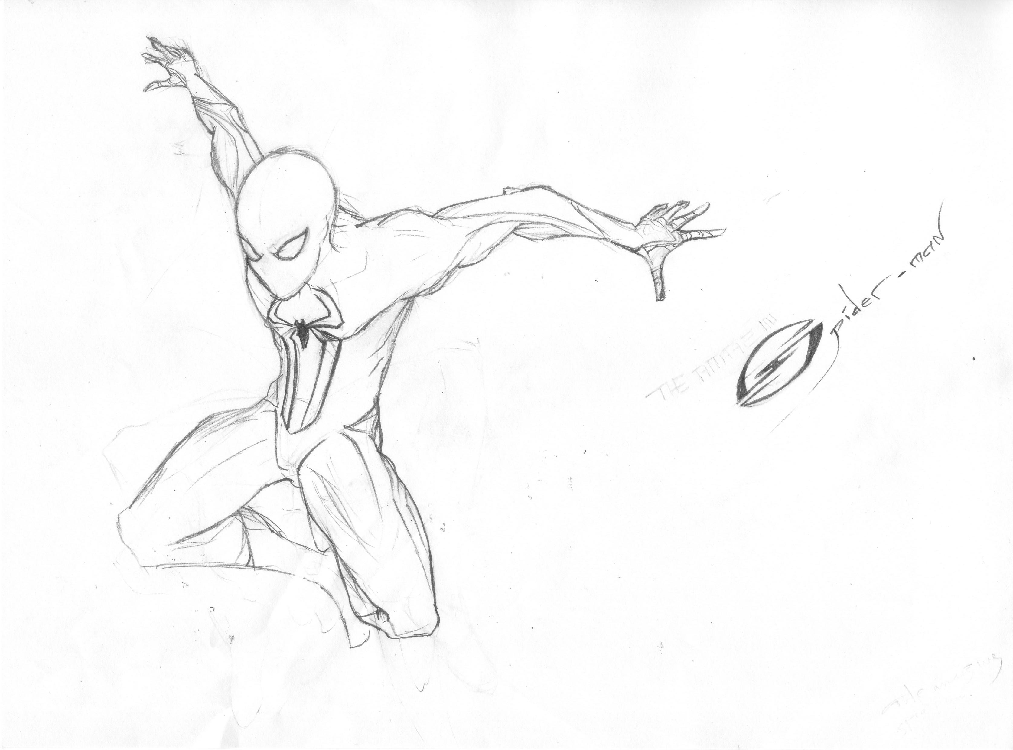 Impressionnant Dessin A Imprimer the Amazing Spider Man