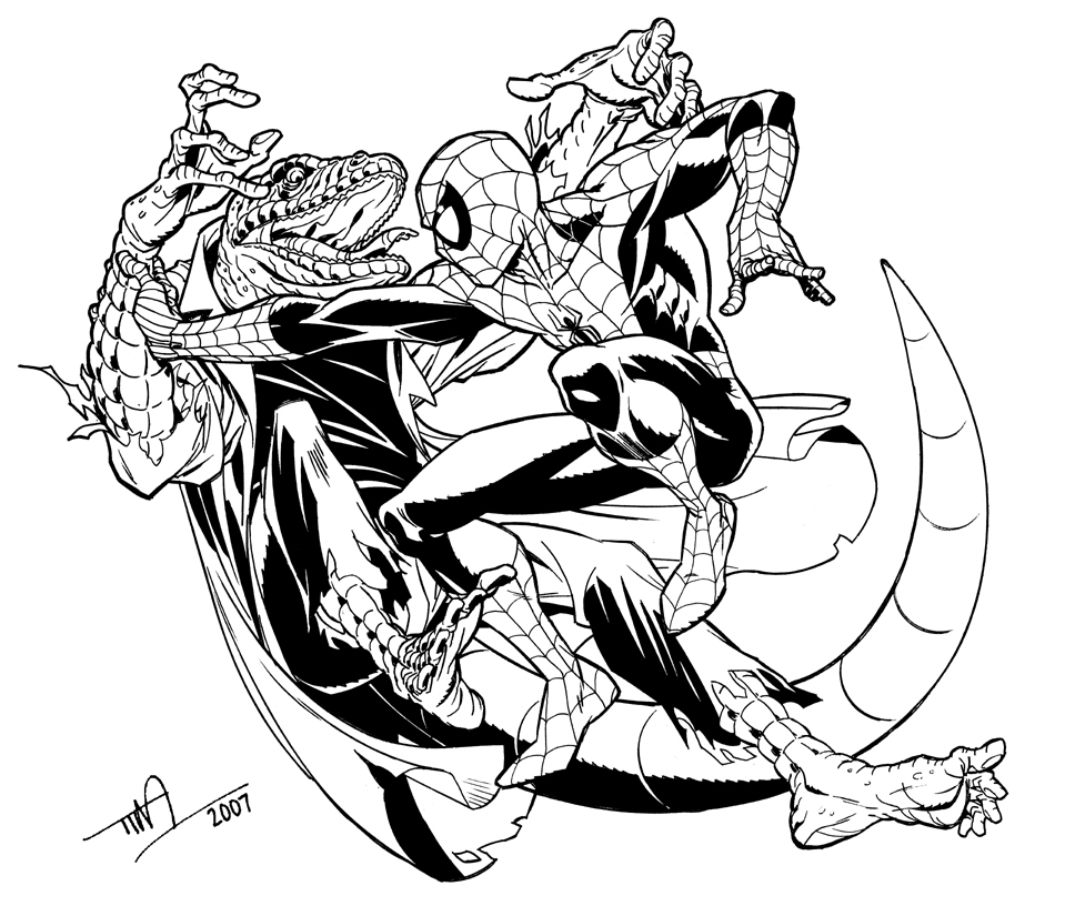 Amazing Spider Man Drawing at GetDrawings.com | Free for personal ...
