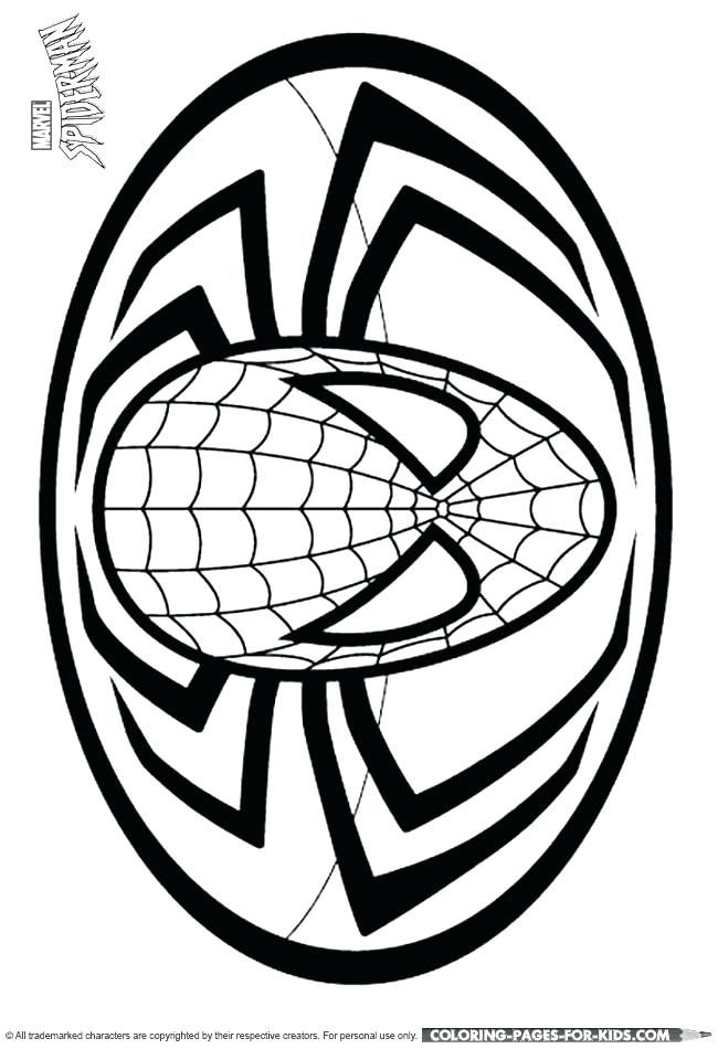 650x950 Spider Man Coloring Page Spider Man Color Pages Spider Man Logo