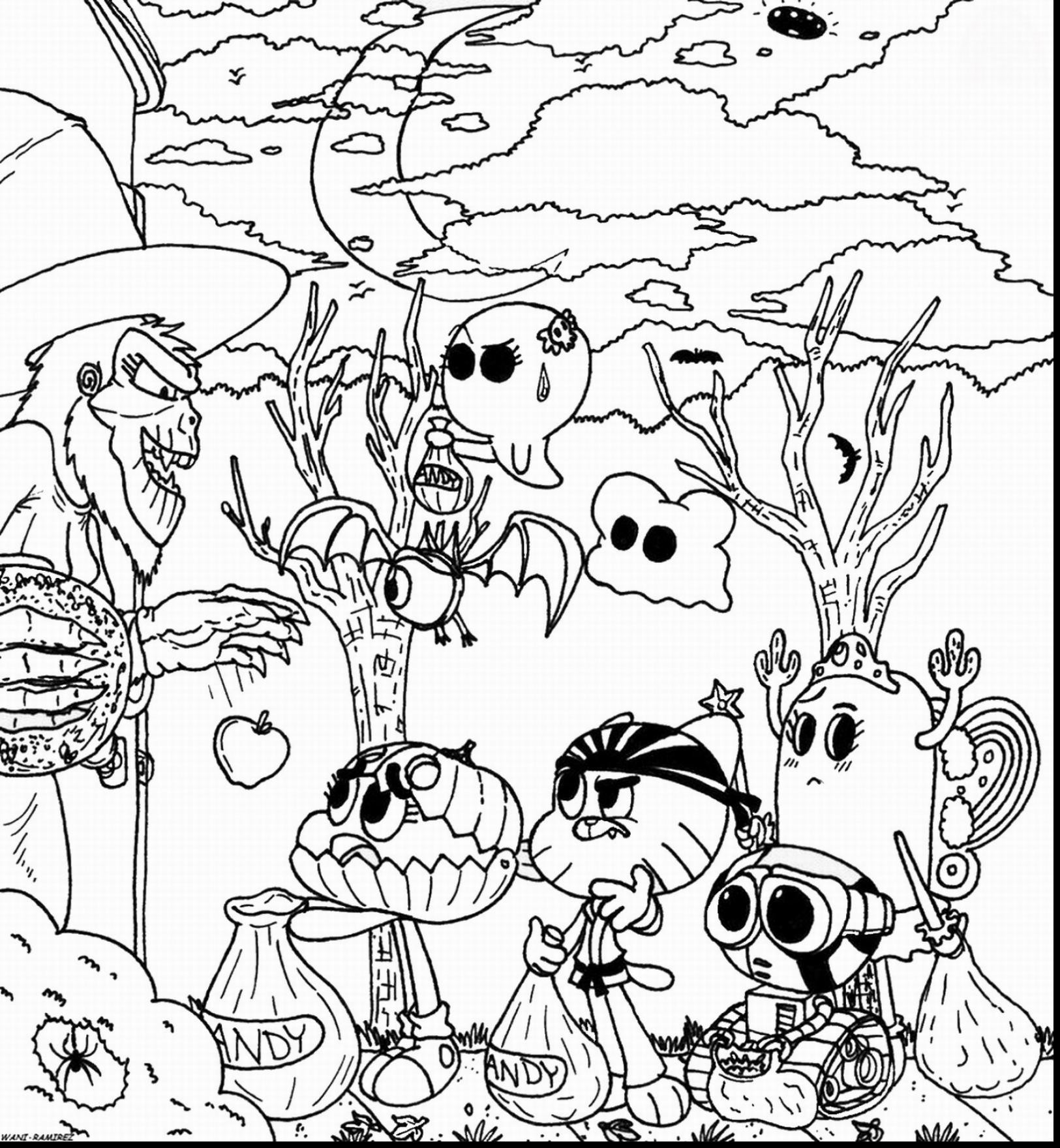 1625x1760 Amazing Coloring Pages Fresh Brilliant Amazing World Of Gumball