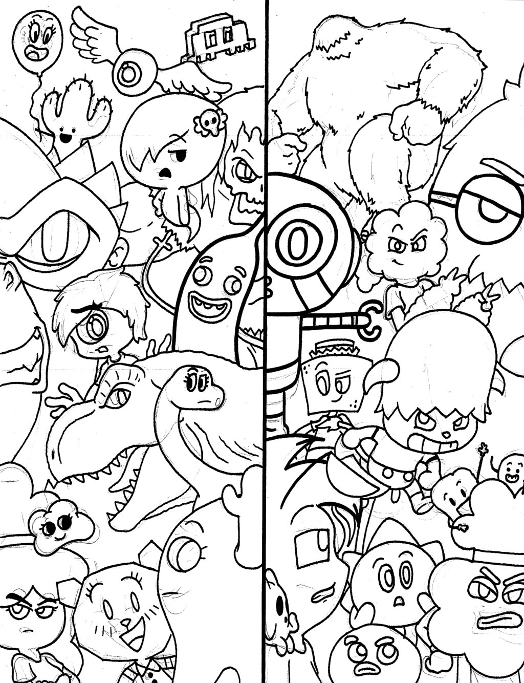 1024x1334 Amazing World Gumball Drawings Another Crappy Amazing World