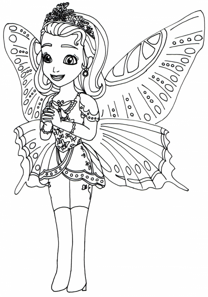 718x1024 Amber Coloring Pages