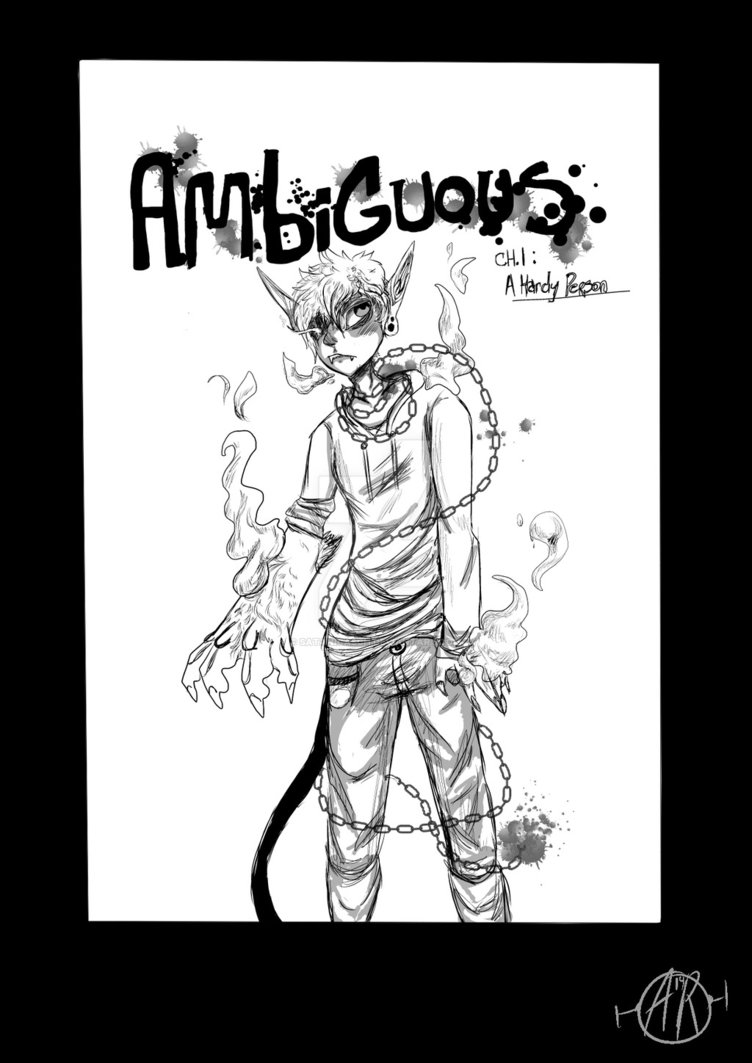 752x1063 Ambiguous Chapter 1 Header Page A Hardy Person. By Asche R