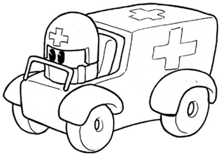 Ambulance Drawing