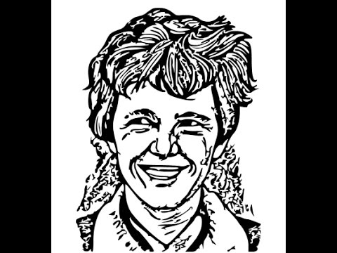 480x360 How To Draw Amelia Earhart Face Sketch Drawing Step By Step