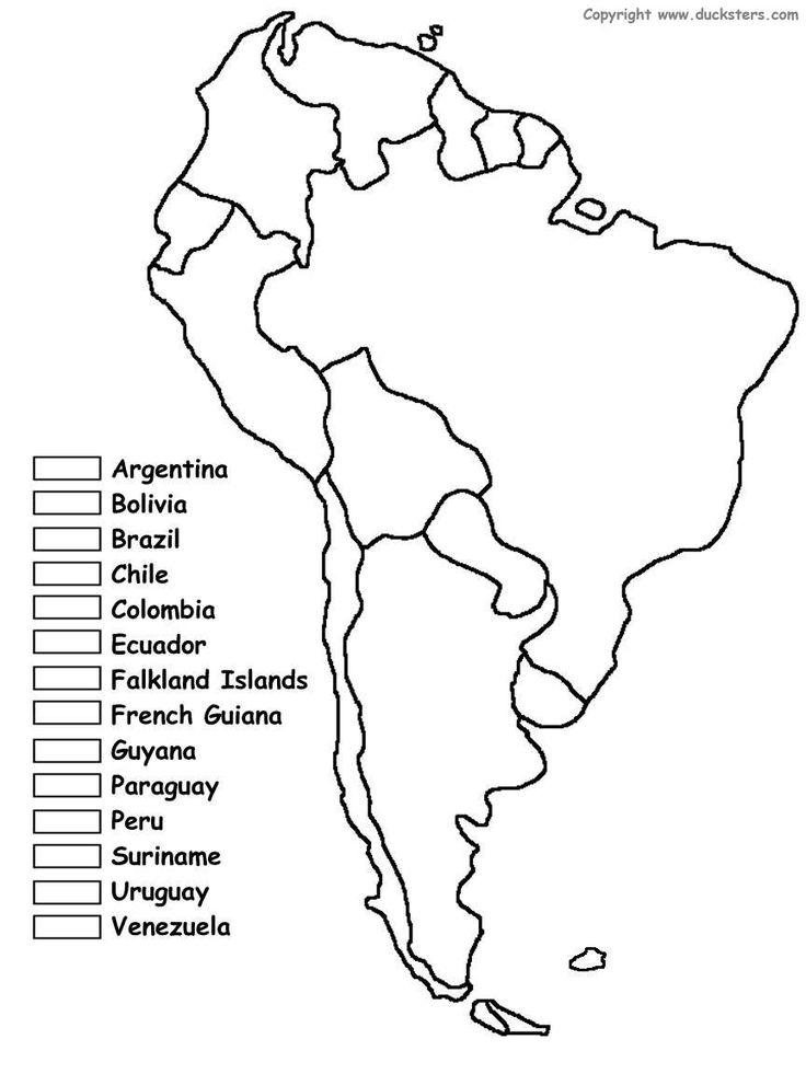 America Map Drawing