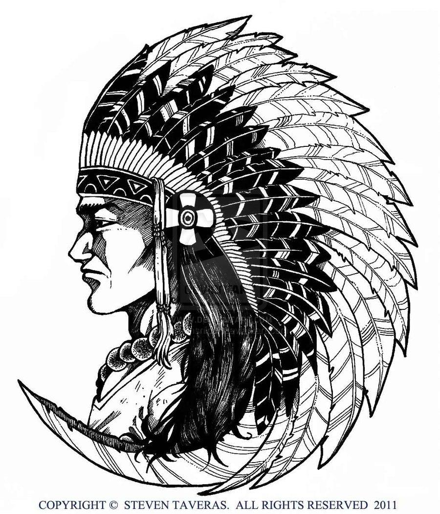 900x1050 Native American Art Drawings Native American By ~dreamsniper