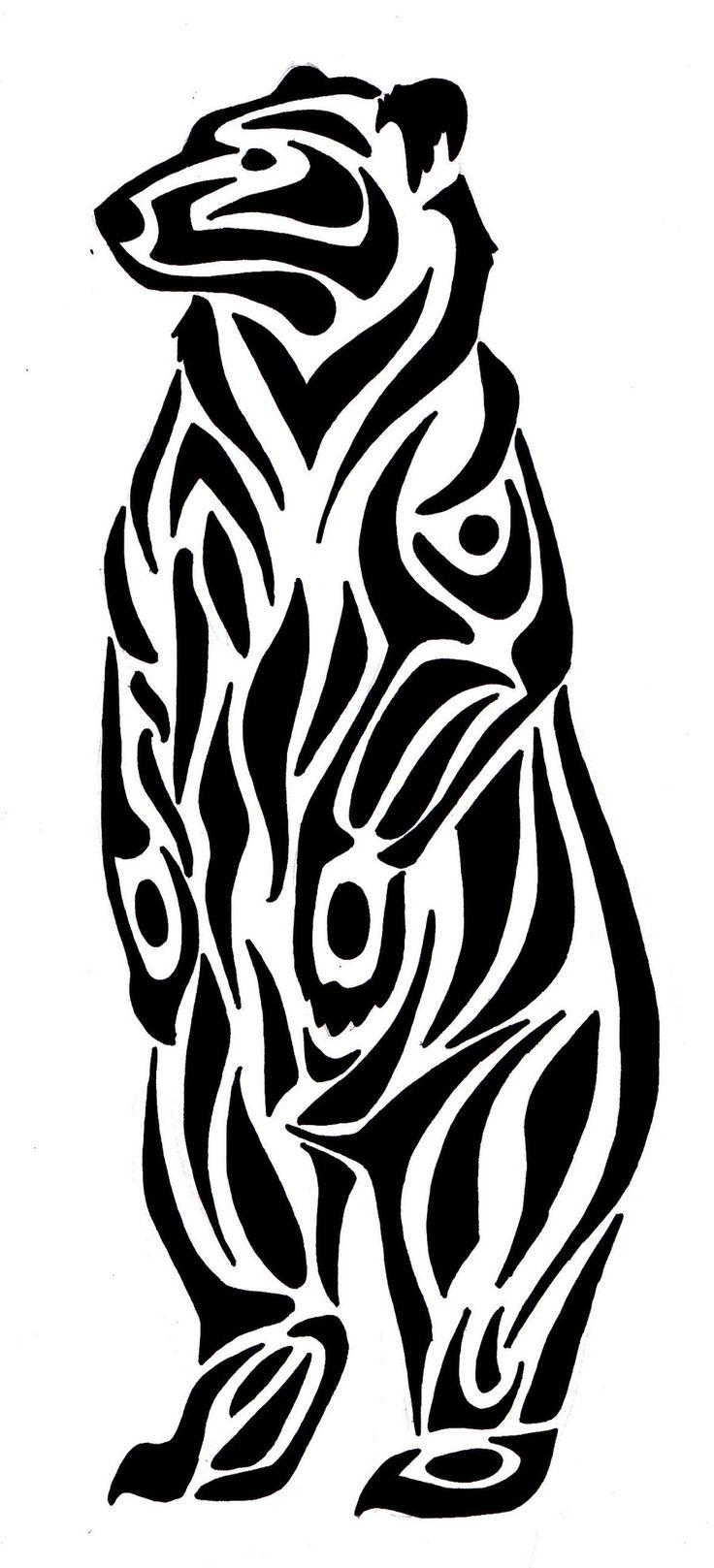 736x1617 Native American Drawings Of Bears