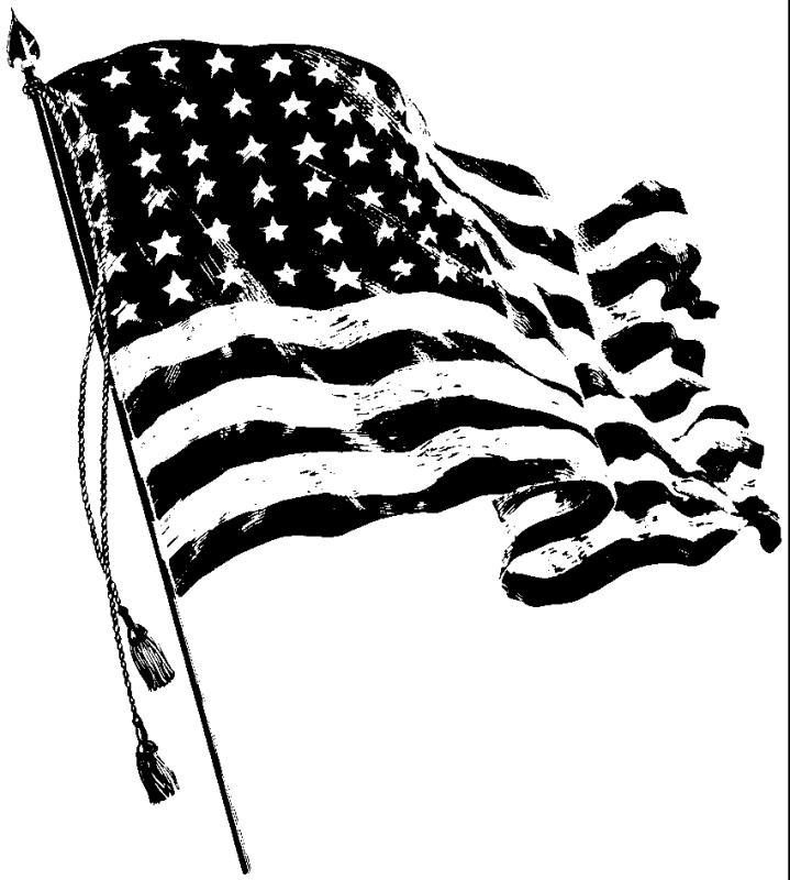 Flag Waving Drawing At Getdrawings Com