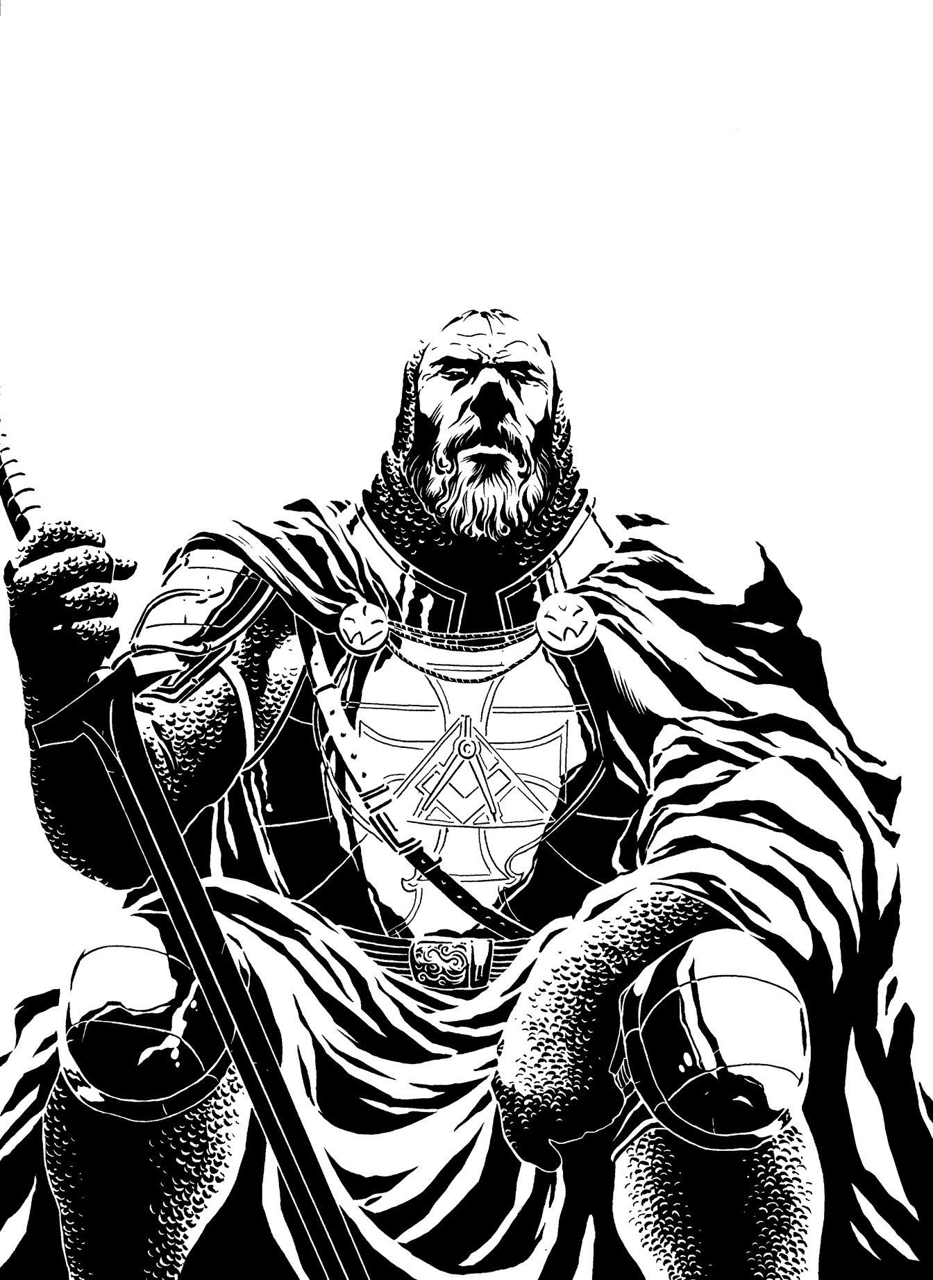 1344x1843 Old Knight Templar By Fernandocarvalho