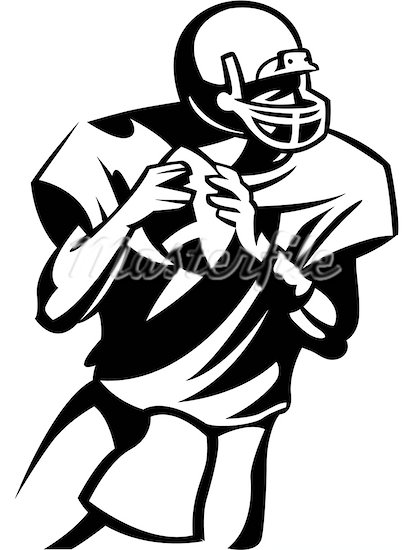 American Football Ball Drawing At Getdrawingscom Free For