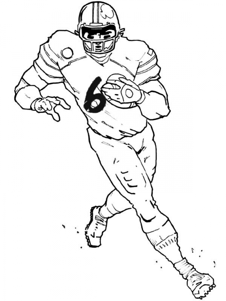 720x960 Get This American Football Player Coloring Pages To Print Out 53821 !