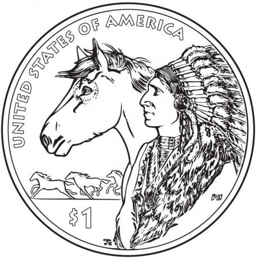 520x527 Native American Indian Coloring Books And Free Coloring Pages