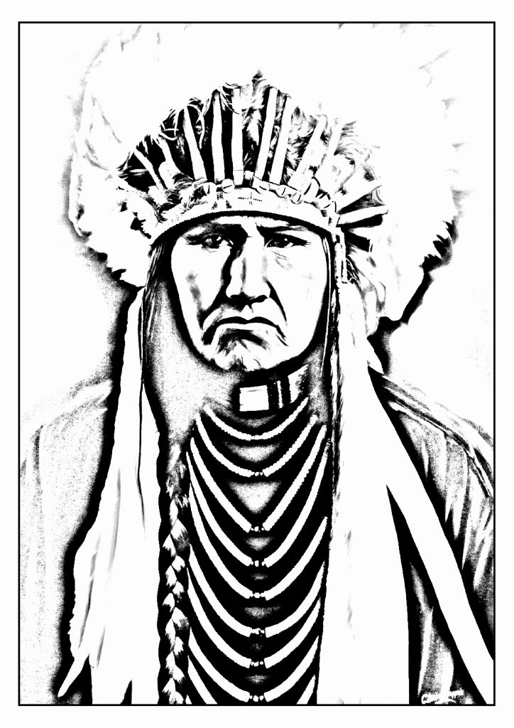 American Indians Drawing