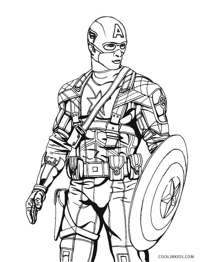 667x850 free printable captain america coloring pages for kids cool2bkids