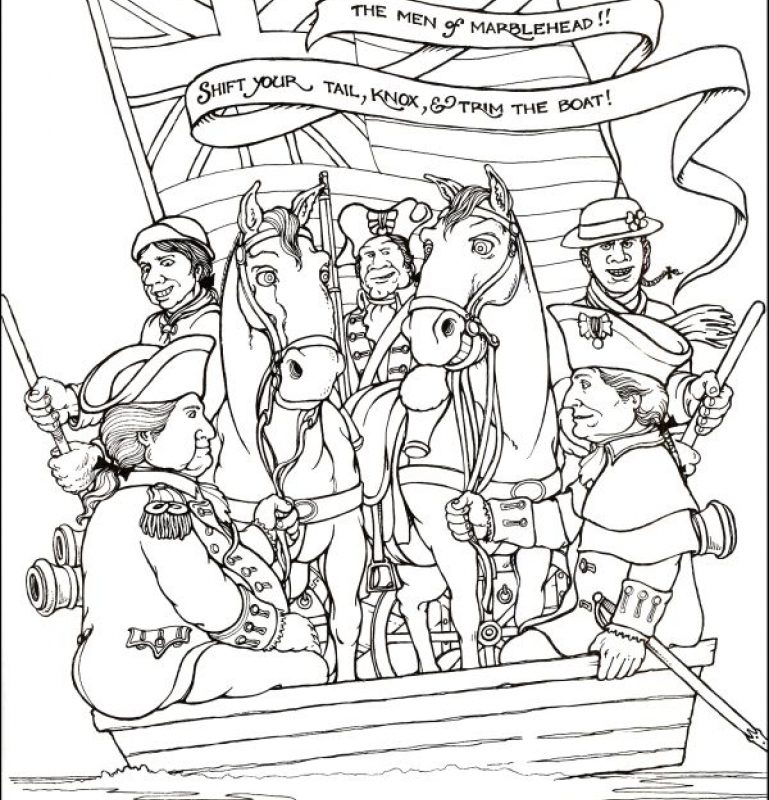 769x800 Revolutionary War Coloring Pages Colonial America For Kids