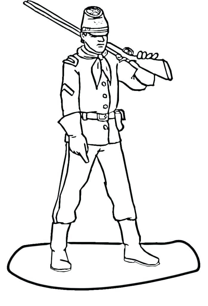 American Soldier Drawing at GetDrawings | Free download