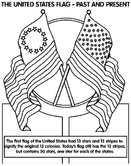442x560 Luxury The American Flag Coloring Page Print Coloring Pages