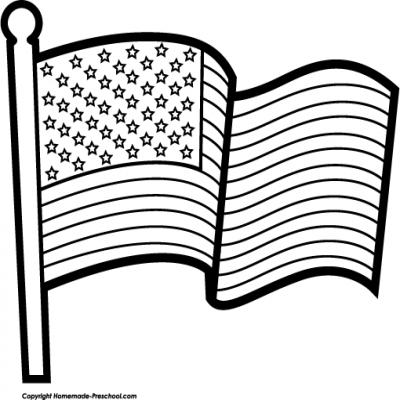 400x400 African American Flag Clip Art