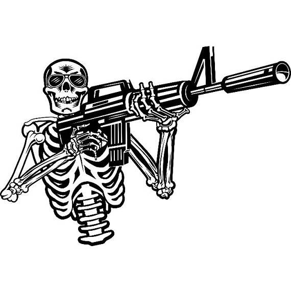 570x570 Military Skull