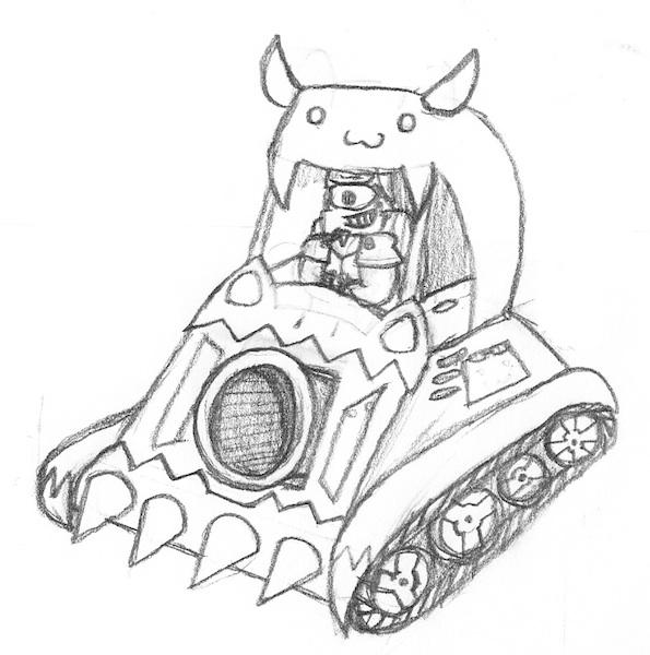595x600 Shantae Fanart Ammo Baron's Car By Whistle Tall