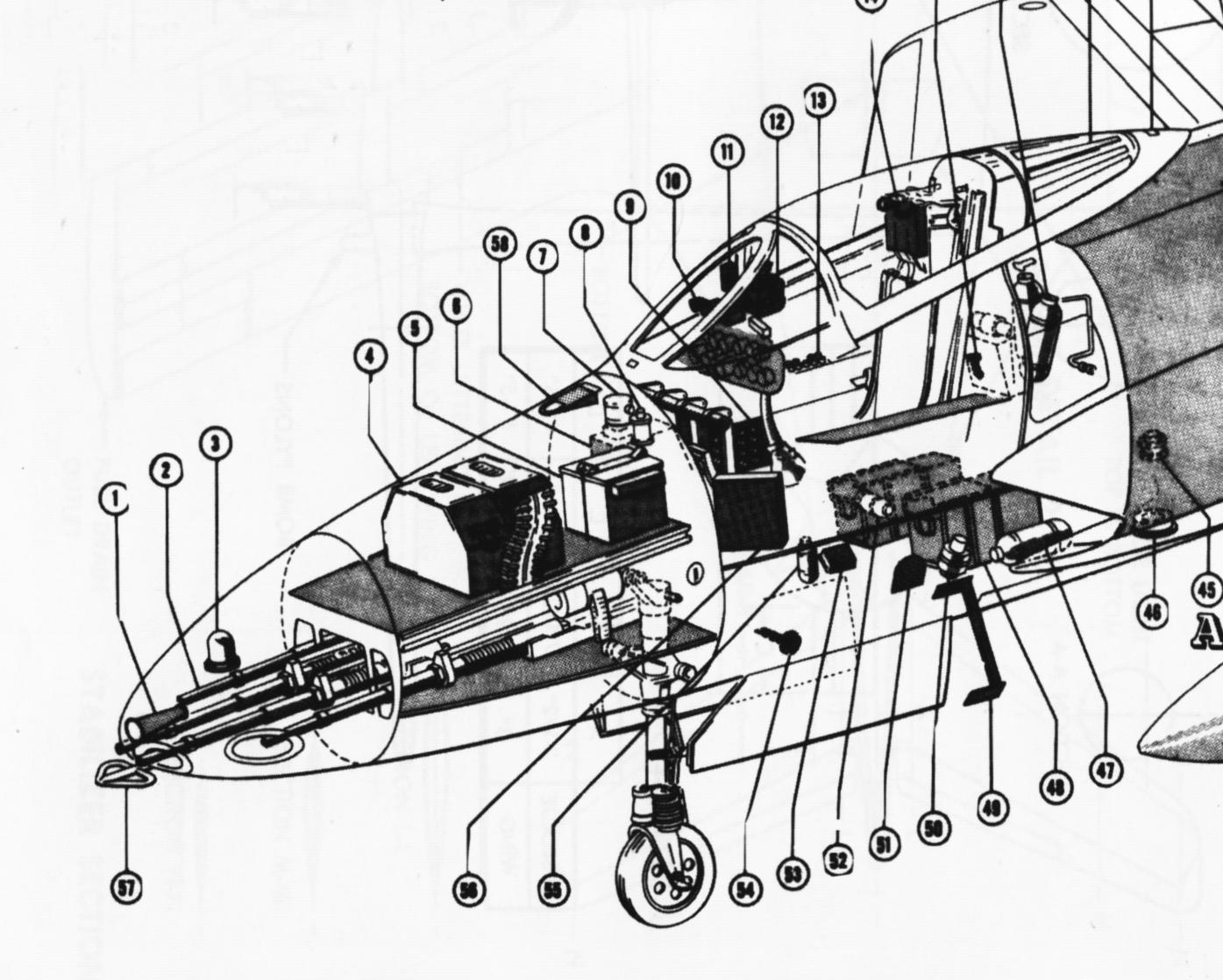 1395x1118 Tailhook Topics F9f Armament Installation