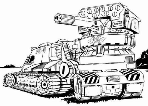 500x358 Zorya Light Tank (Ammo)