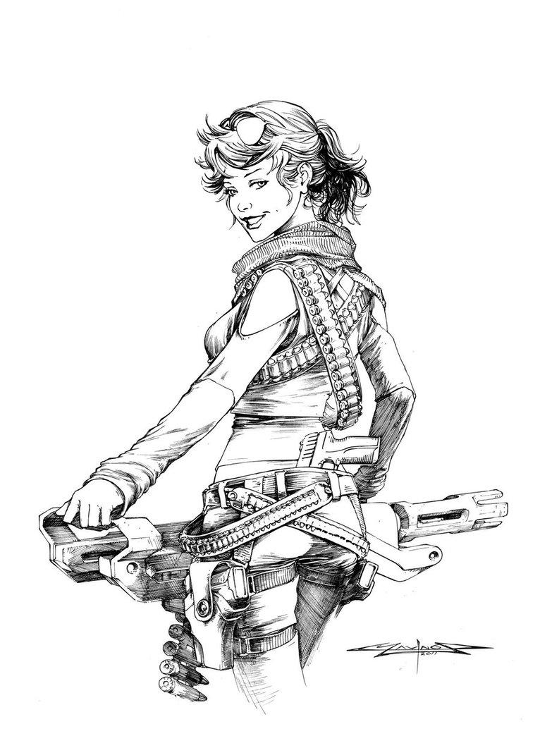 766x1044 Ammo, Ink By Mavinga