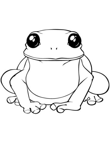 371x480 Amphibian Coloring Pages Free Coloring Pages