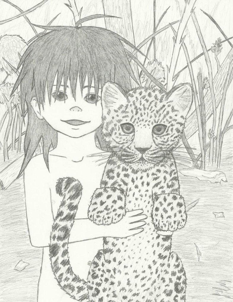 Amur Leopard Drawing