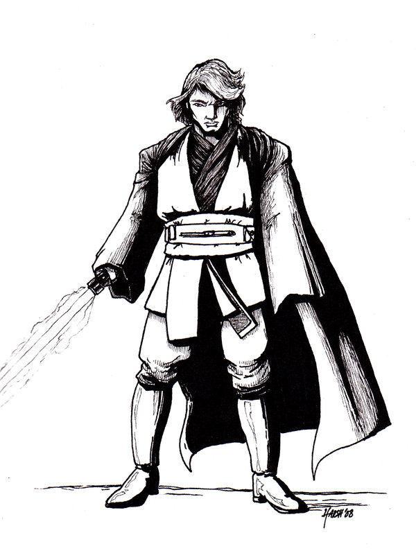 600x798 Anakin Skywalker By Harshrealities