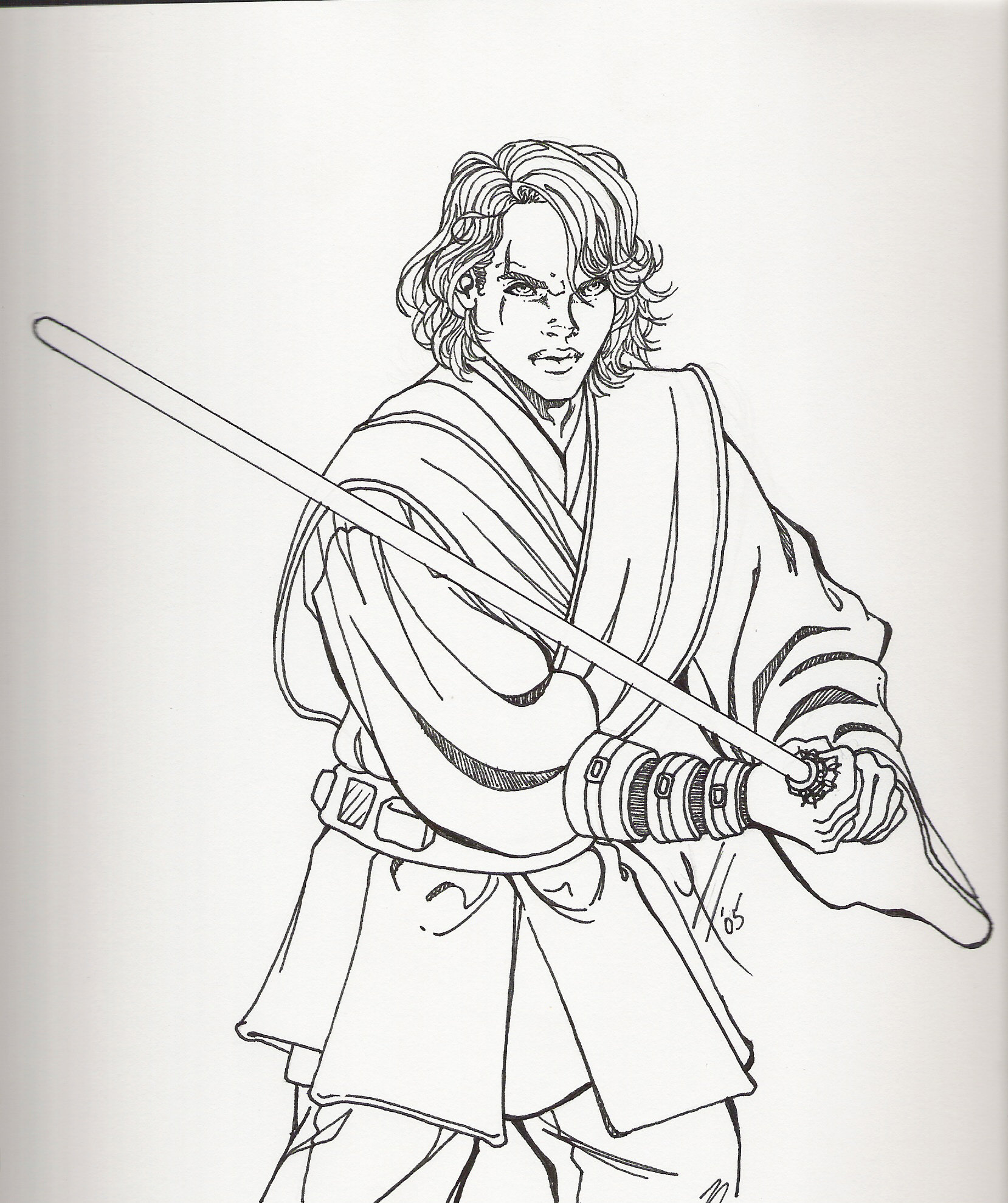 The best free Anakin drawing images