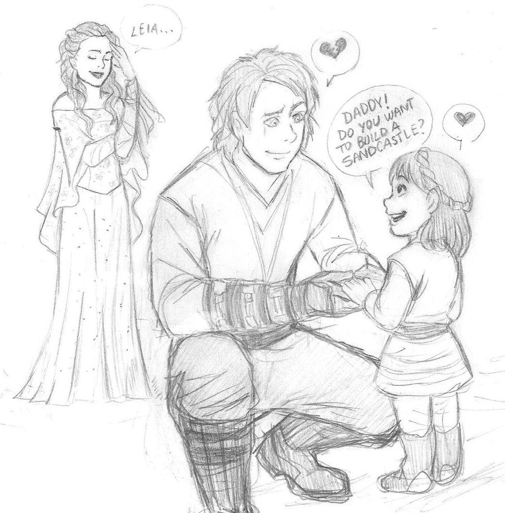 1024x1040 Anakin And His Little Princess