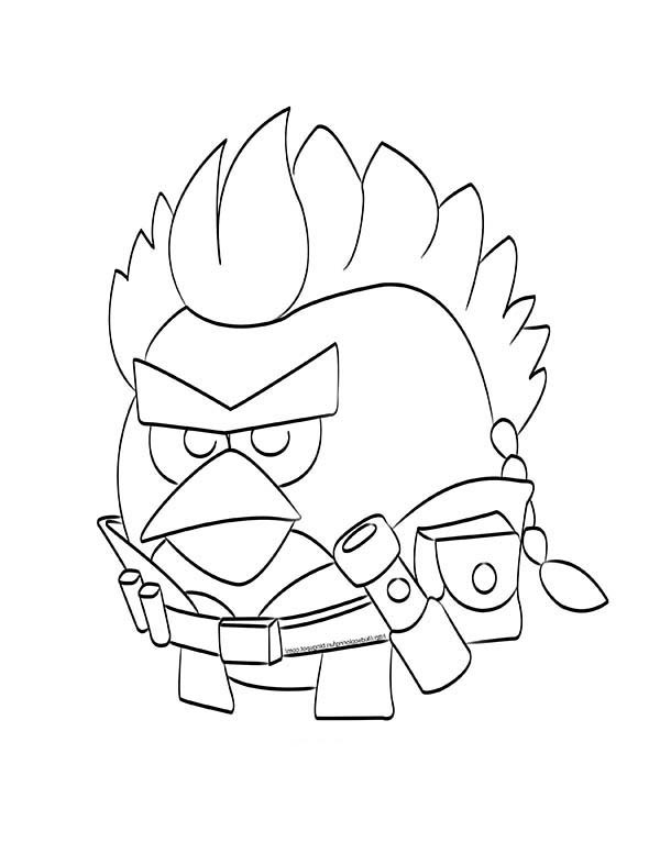 600x776 Angry Birds Star Wars Anakin Skywalker Coloring Pages Batch Coloring