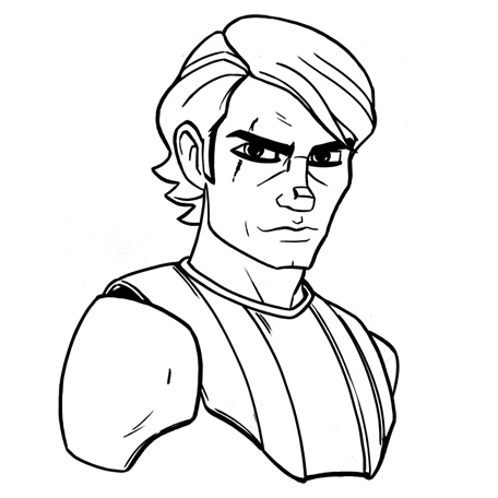 456x456 Image Result For Anakin Skywalker Drawing I Love You. I Know