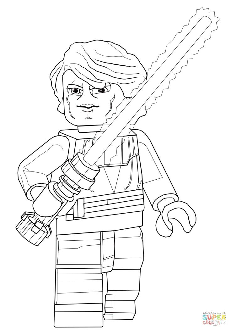 736x1049 Anakin Skywalker Coloriages Coloring Page Best Shots Anakin