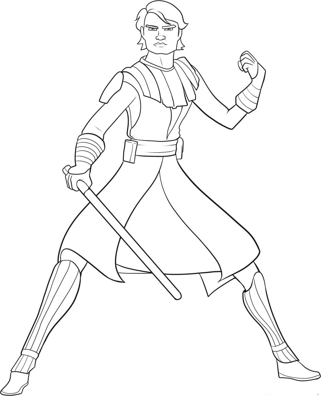 1050x1296 Star Wars Coloring Pages Anakin Skywalker For Humorous Draw Pict 3