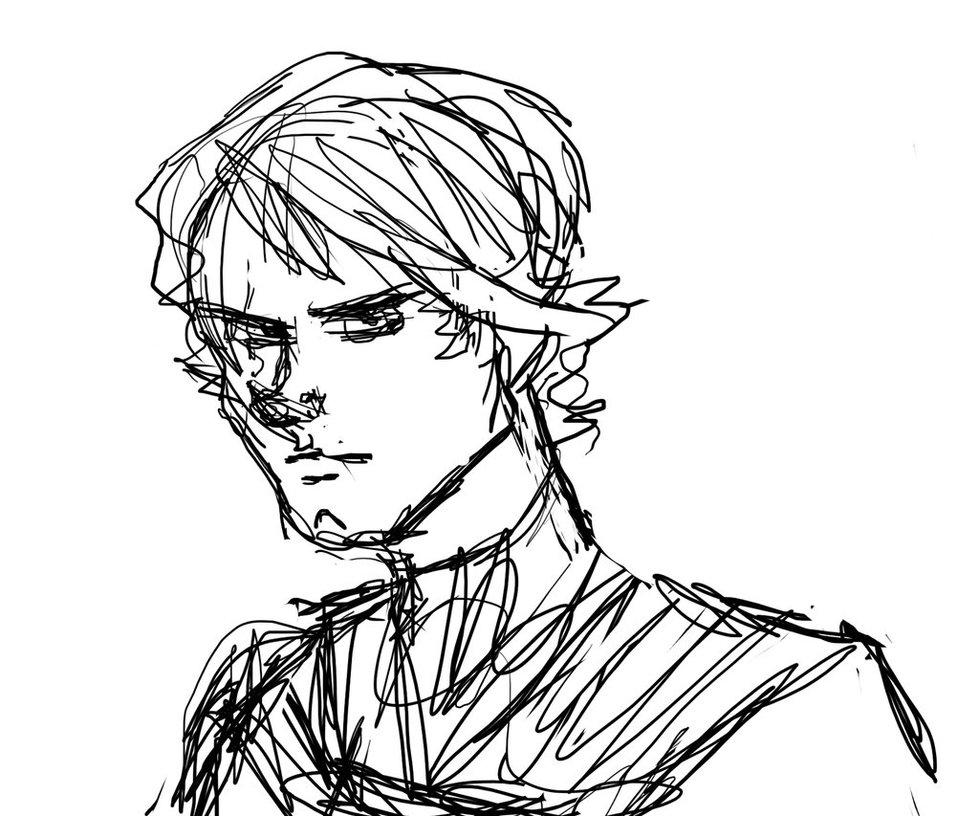979x816 Anakin Skywalker Sketch By Zany The Nerd