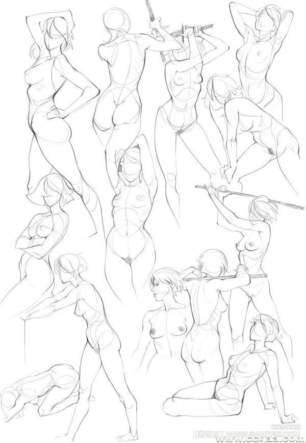 600x869 116 Best Anatomy Drawing Images On Black Women Art