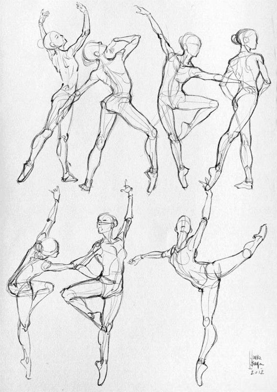 566x800 Here Are Some More Anatomical Studies And Sketches (Sport