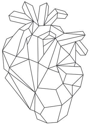 300x414 Drawn Lines Heart