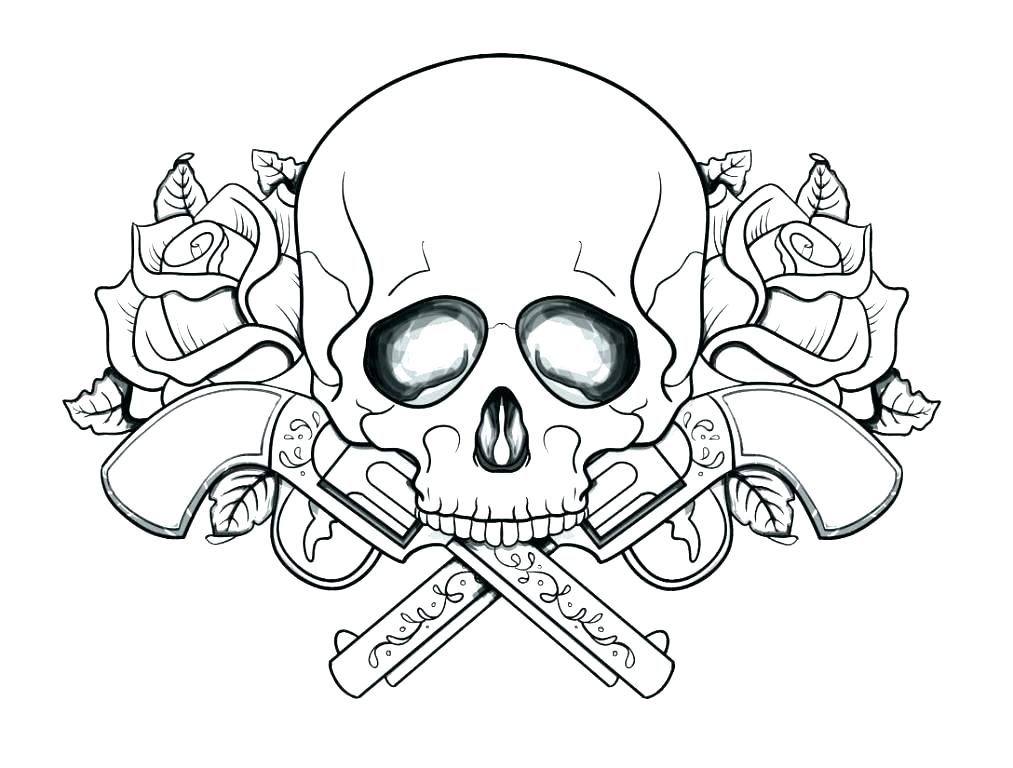 1013x768 Skull Coloring Pages Anatomy Skull Coloring Page Skull Punk Rock